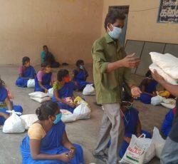 Sanitation Workers_ Mylapore_Humanitarian aid distribution